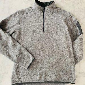 Arc'teryx Covert 1/2 Zip Pegasus Grey Pullover Lg